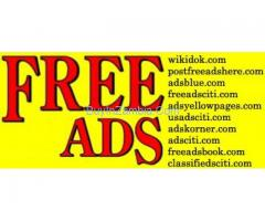 Post Free Ads - Sell Buy Trade Online