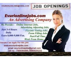 :   Work from home and earn minimum ten thousand. Just contact us