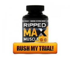 Ripped Max Muscle Supplement Free Trial and Where to Buy