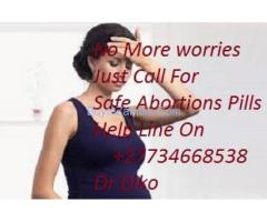 Free delivery to you mon-sat +27734668538 Safe-Pain Free Abortion pills in Randfontein,