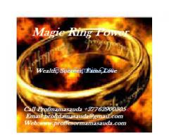 Magic Ring For Money,Success,Love and Power call mama +27762900305