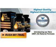 Max Test Ultra - Get Perfect Performance & Testosterone