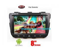Kia Sorento car audio radio android wifi dvd GPS camera