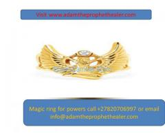 MAGIC RING FOR SPECIAL POWERS AND MIRACLES CALL ADAM +27820706997