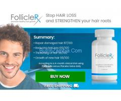 Follicle RX - Reduce your Hair Fall