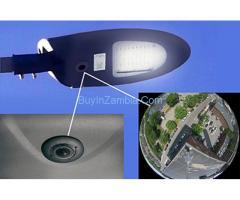 Surveillance Camera Streetlight