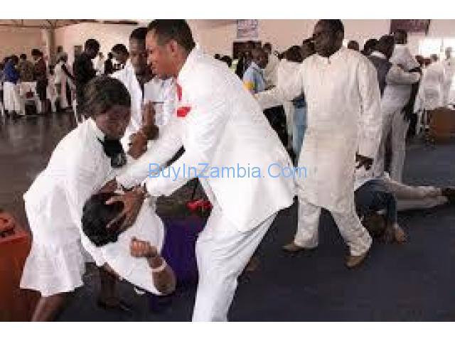 major bushiri anointing oil