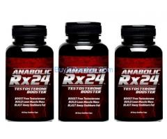 Anabolic RX24 Asli : Choose The Right Supplement To Build Muscle