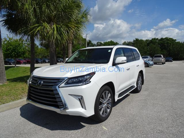 White 2016 Lexus LX570 Limited Soybean Full Option for For Sale Whatsapp or call +971581543383