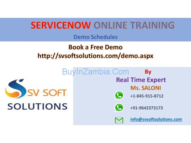 Servicenow Online Training in Hyderabad by SV Soft Solutions