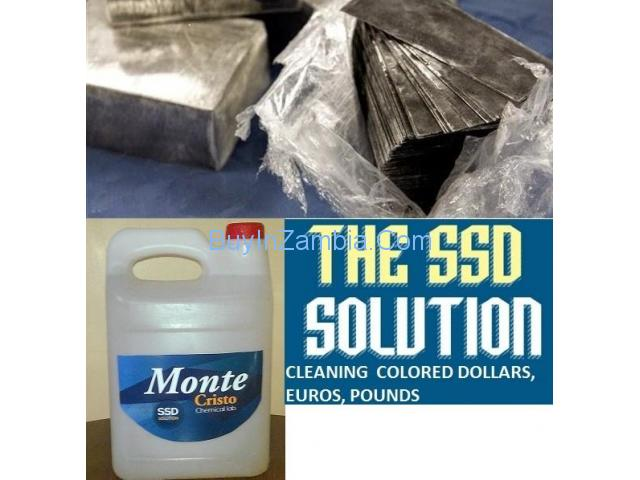 BEST top 3 SUPPLIERS OF SSD CHEMICAL SOLUTION FOR CLEANING BLACK MONEY +27780171131